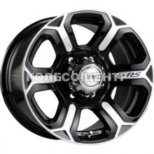 Racing Wheels H-427 8x17 6x139,7 ET20 DIA110,5 (BKFP)