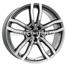 Alutec Drive 8,5x19 5x114,3 ET40 DIA70,1 (metal grey front polished)