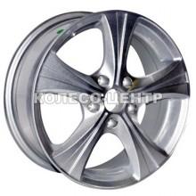 Futek NF-310 6x15 4x100 ET38 DIA67,1 (silver)