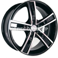 Racing Wheels H-412 6,5x15 5x110 ET35 DIA65,1 (BKFP)