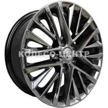 Replica Lexus (CT2252) 7x17 5x114,3 ET40 DIA67,1 (matt black)