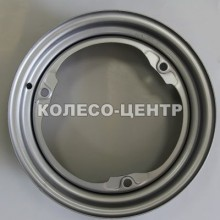 Steel ЗАЗ 4,5x13 3x256 ET30 DIA228 (silver)