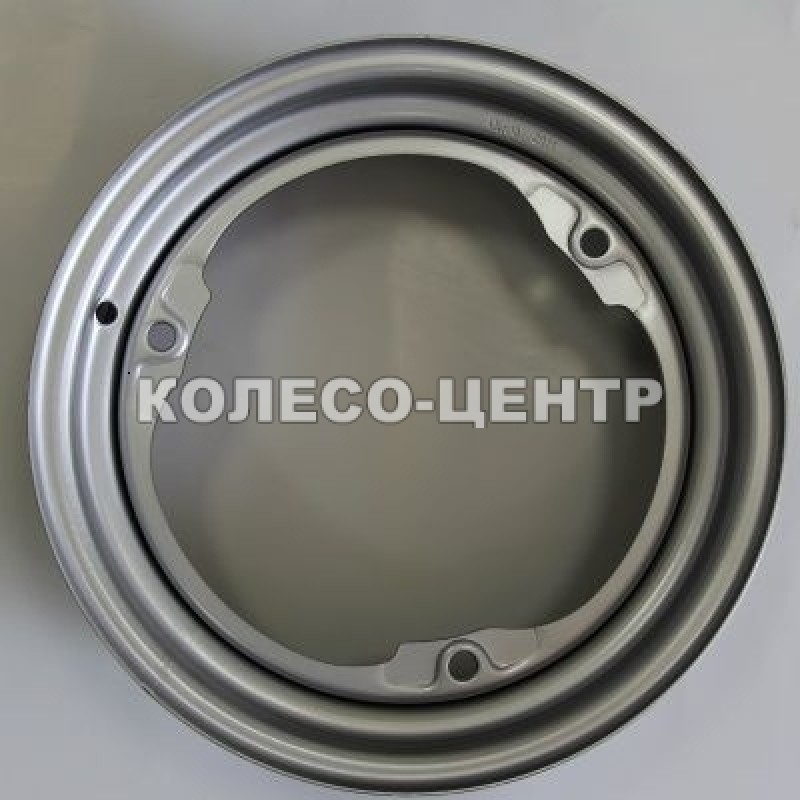 Steel ЗАЗ 4,5x13 3x256 ET30 DIA228 (silver)
