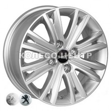 ZF TL8185 6x15 4x108 ET27 DIA65,1 (silver)